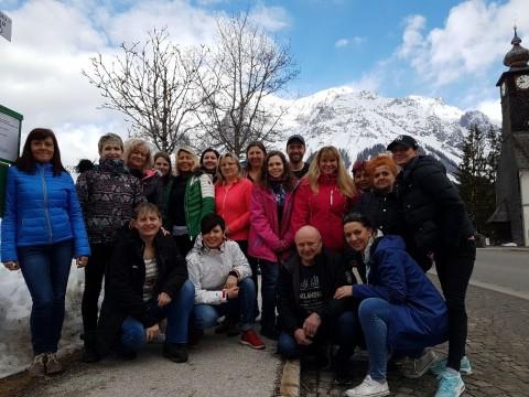 Teambuilding v Alpách