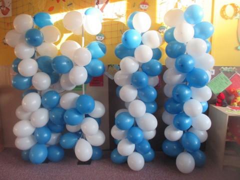 1. A přivítala jaro balónky