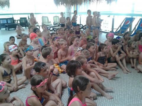 Nejrychlejší plavci z 1. B