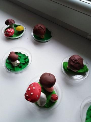 Modelování - houbičky