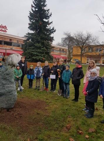 Zasadili jsme školní strom