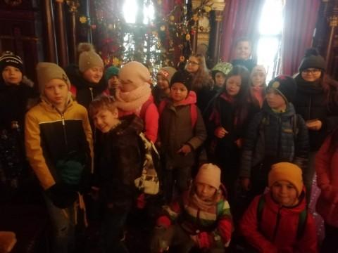 4.D Hrádek u Nechanic - výlet za vánoční atmosférou