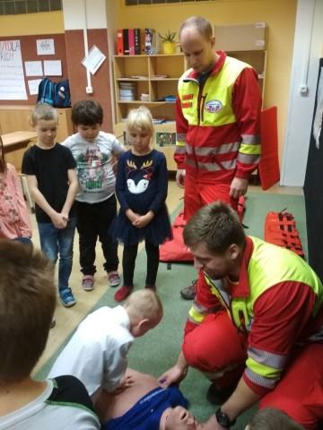 Aktivní přednáška od profesionálních záchranářů v Badatelském klubu
