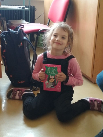 """Projekt ŠD – 6. oddělení: """"Má nejoblíbenější kniha a proč"""""""
