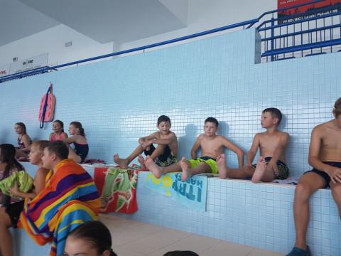 Plavecký výcvik v 5.B