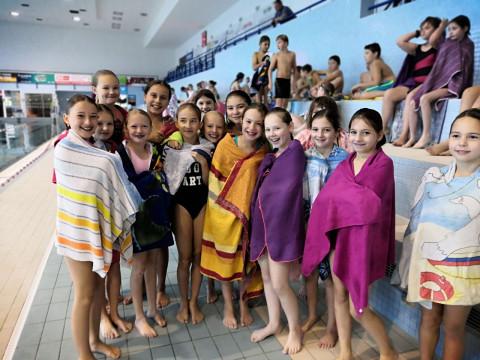 Plavání v 5.A