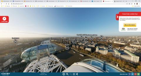 Virtuální prohlídka Londýna, 7. ročníky