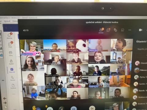 Online vyučování - jedeme dál !