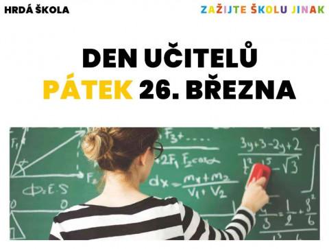 Hrdá škola - Den učitelů