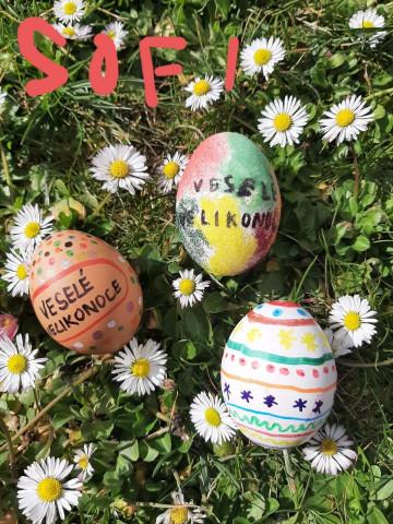 Veselé Velikonoce přeje 2. B