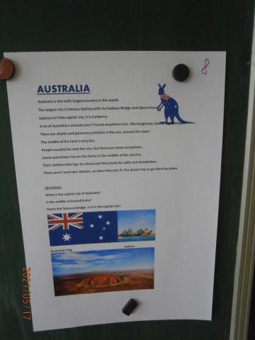 Cestujeme po Austrálii v AJ