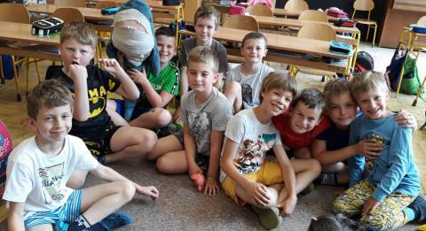 Hrdá škola - Pyžamový den