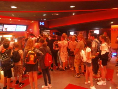 2. stupeň společně v kině