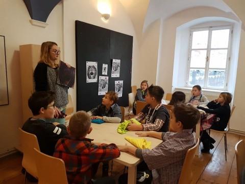 Návštěva VČG - program Tisknu, tiskneš, tiskneme