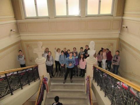Exkurze v Regionálním muzeu Chrudim 7. C