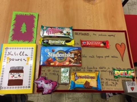 Vítáme Silvinku v novém kalendářním roce ve škole a přejeme pevné zdraví.