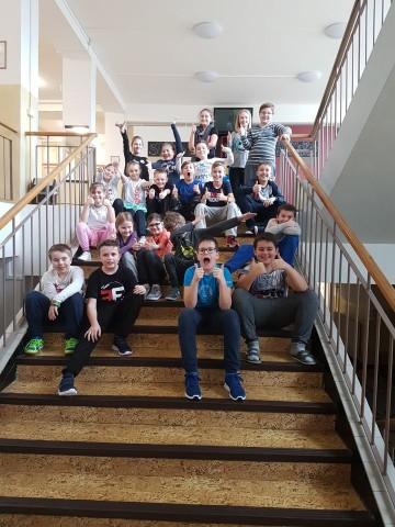 Projekt Hrdá škola - Teplákový den